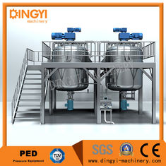 1000L Shampoo Shampoo Production Line Semi Solid Equipment  Electrical / Steam Heating