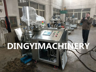 Lab Industrial Mixing Machine Stainless Steel Material HMI Touch Screen Control