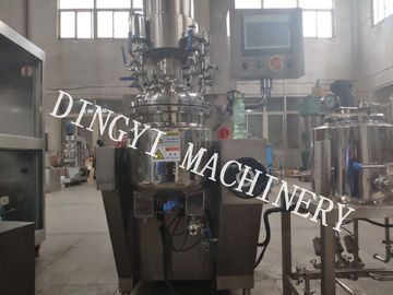 Powerful Cream Manufacturing Machine / Cosmetic Cream Mixers 220V/380V