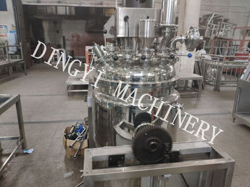 High Production Efficiency Vacuum Planetary Mixer PLC Touch Screen Control