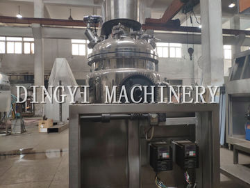 Powerful Industrial Homogenizer Equipment / SS304 Ointment Manufacturing Machine